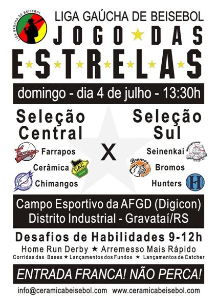 Cartaz - LGB Jogo Das Estrelas - 04/07/2010